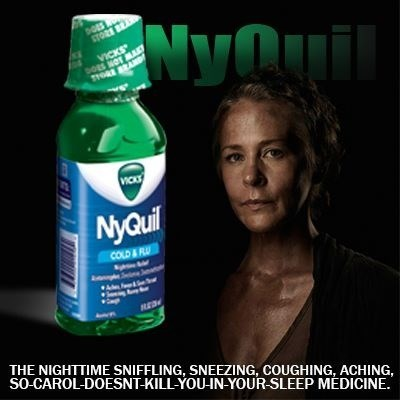 epic burn nyquil carol The Walking Dead - 7879703040