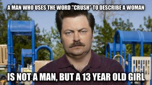 ron swanson,relationships,crushes,dating