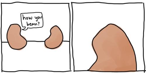 puns beans comic food - 7879717632