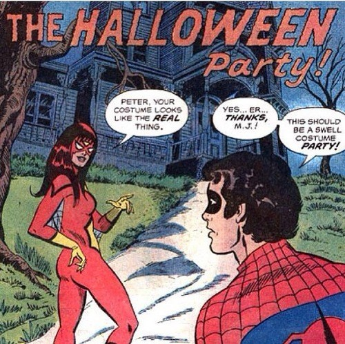 peter parker halloween off the page Spider-Man - 7879737088