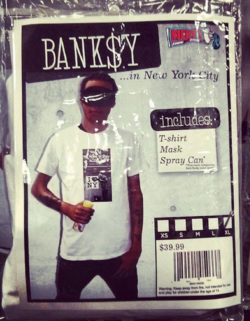 costume,banksy,Street Art,halloween,hacked irl