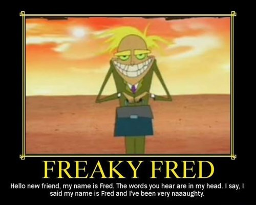 scary wtf fred cartoons courage the cowardly dog - 7879749376