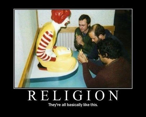 Ronald McDonald religion funny - 7879769088