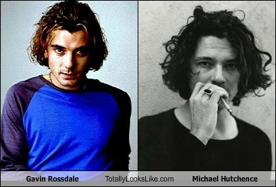gavin rossdale,totally looks like,michael hutchence,funny