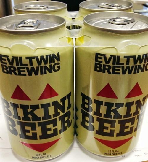 beer evil twin bikinis funny - 7879876864