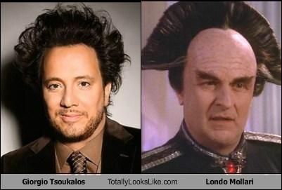 Giorgio Tsoukalos,totally looks like,londo mollari,funny