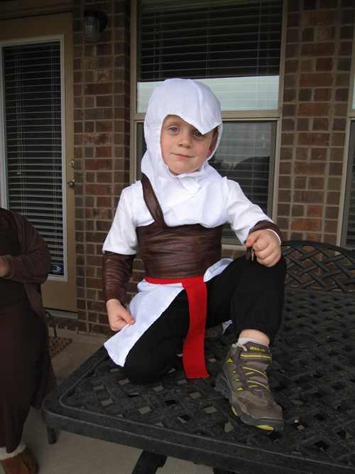 cosplay,kids,cute,assassins creed