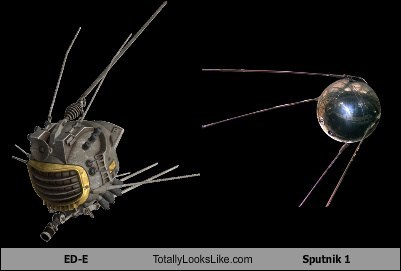 fallout,satellites,totally looks like,ed-e,sputnik 1,funny