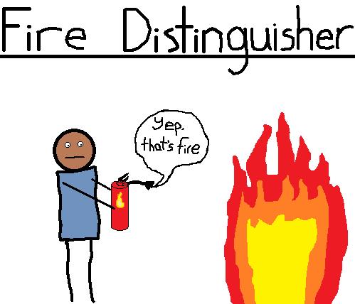 fire,puns