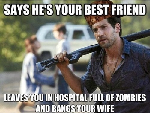 scumbag shane The Walking Dead - 7881065984