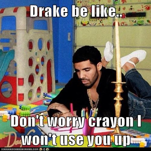 sensitive,Drake,crayon