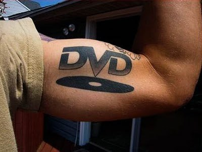 dvds,tattoos,biceps,funny