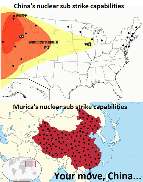 China,nukes,america