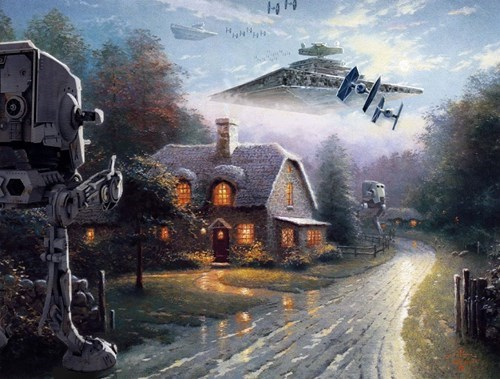 nerdgams star wars uproxx hacked irl paintings funny g rated win - 7881393664