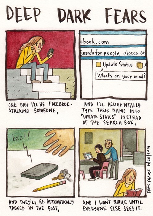 fears,internet,facebook,funny,web comics
