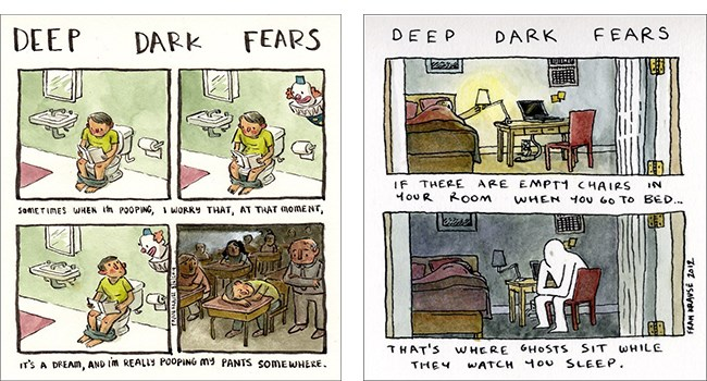 fears artist dark - 7881477