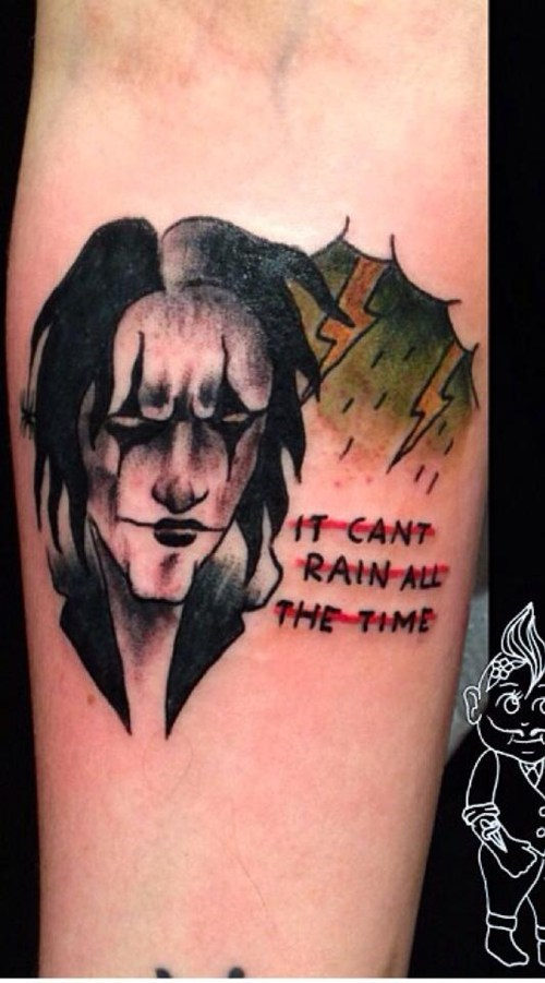 The Crow,tattoos,funny