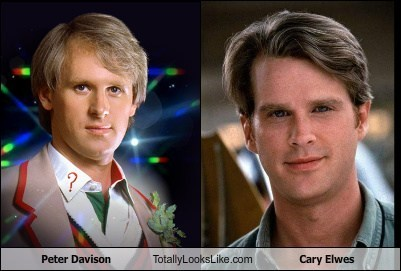 cary elwes,peter davison,totally looks like