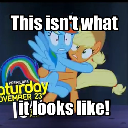 applejack,mlp season 4,rainbow dash