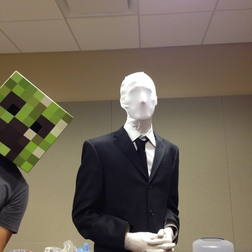 costume creeper minecraft phtobomb slenderman - 7882282496