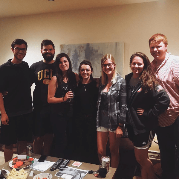 Game of Thrones Maisie Williams Party snacks UCLA fans