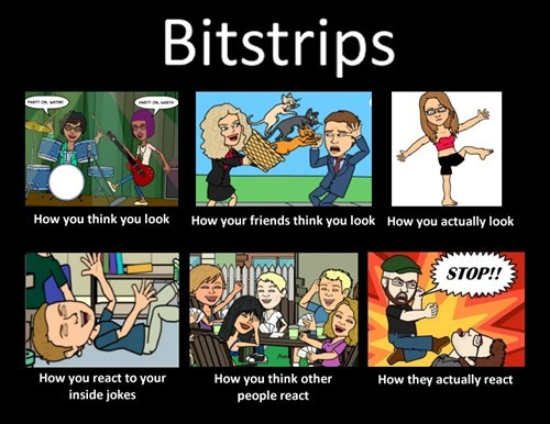 what people think i do bitstrips - 7883822080