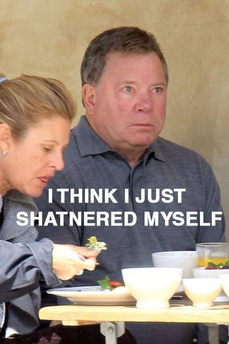 accident uh oh William Shatner - 7883893504