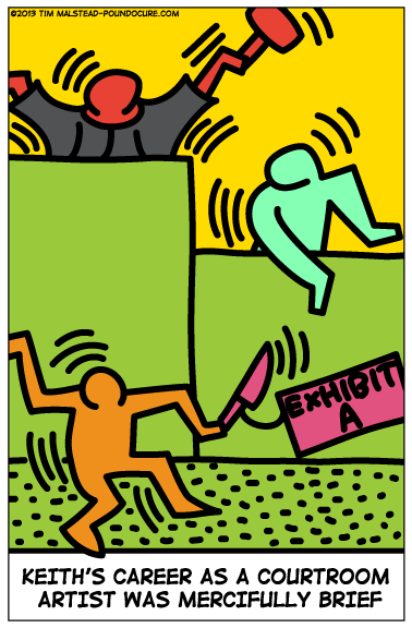 art keith haring funny web comics - 7884048128