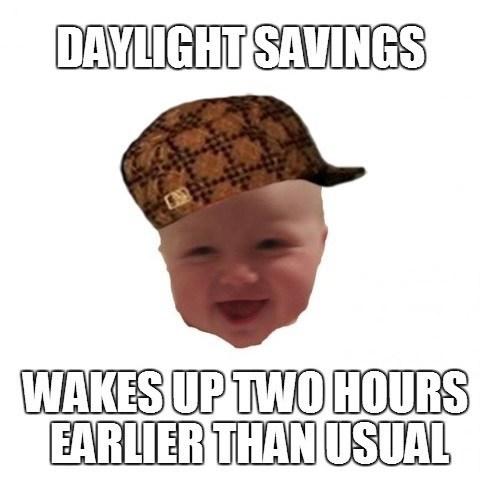 time change Babies parenting Memes - 7884147200