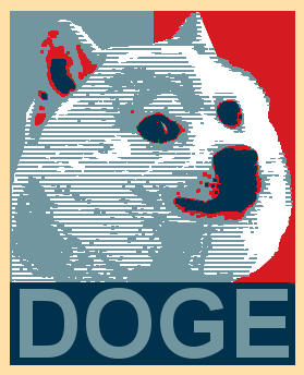 Doge much patriot. Such wow. Best president