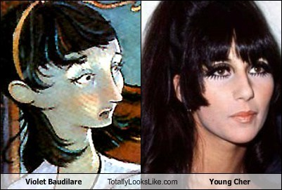 violet baudillare,totally looks like,cher