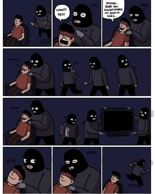 wtf massage funny robbery web comics - 7884903168