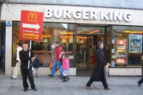 McDonald's burger king - 7885061120