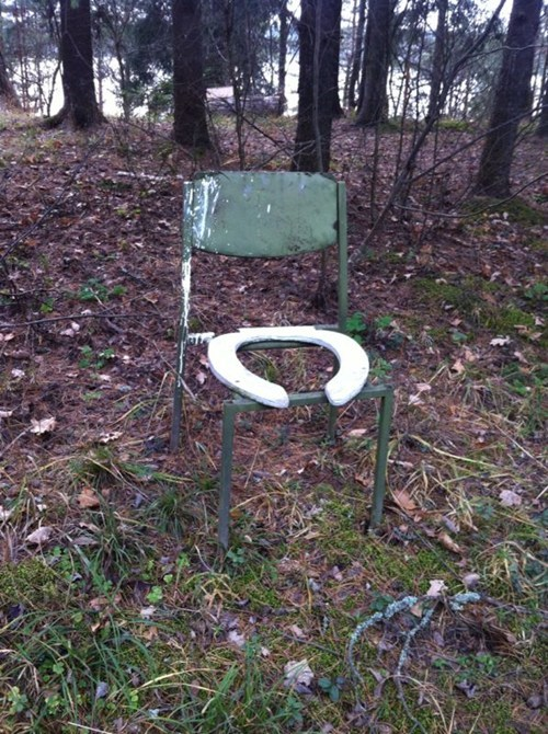 chair there I fixed it toilet seat g rated - 7885240320