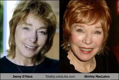 jenny o'hara,totally looks like,shirley maclaine,funny