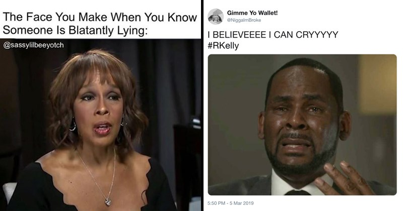 r kelly meltdown interview memes