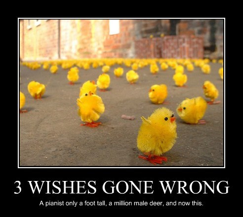 wishes misinterpretation genie funny - 7885461248