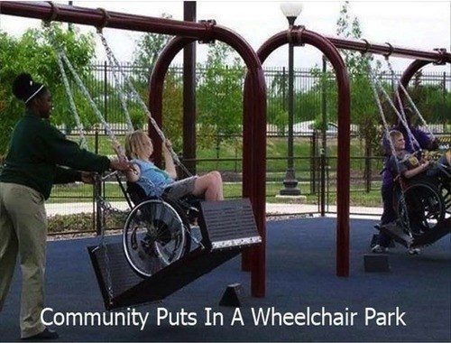 parks,wheelchairs,restoring faith in humanity week