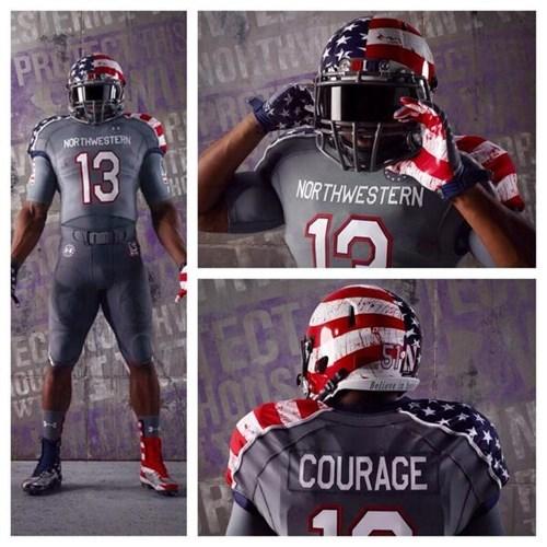 uniforms michigan Northwestern college football - 7885551360
