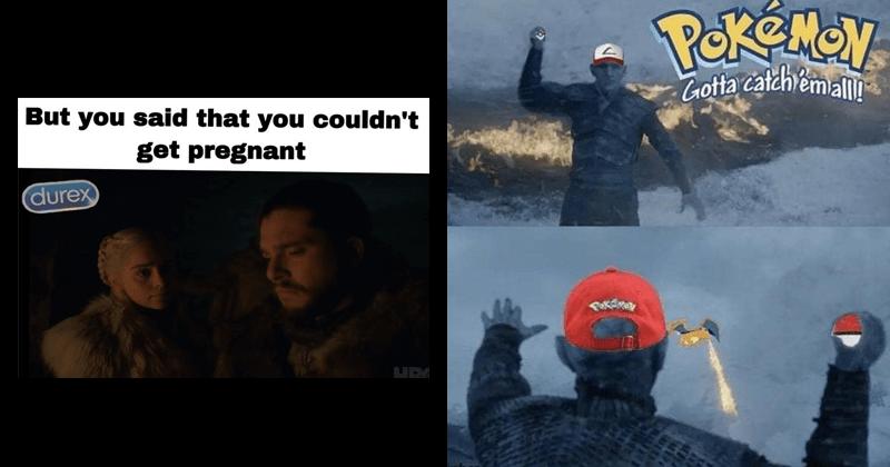 Game of thrones memes, season 8, hbo.