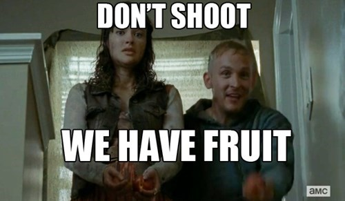 civilians,fruit,The Walking Dead