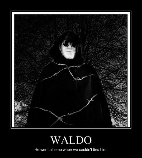 emo funny wheres waldo Sad - 7885754624