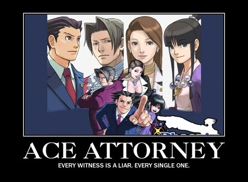phoenix wright,video game logic