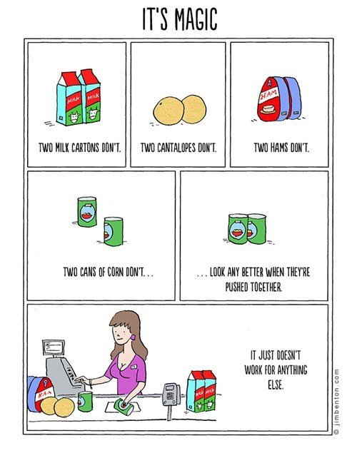 grocery shopping web comics magic - 7885824512