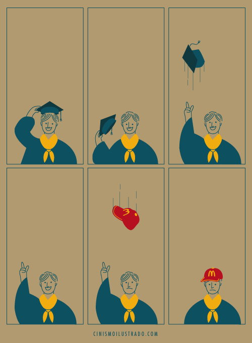 graduation modern living sad but true funny - 7885843456