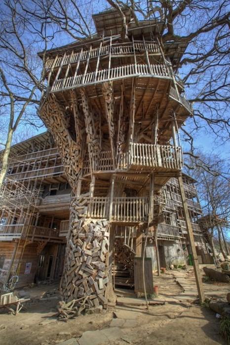 architecture design treehouse funny - 7885854976
