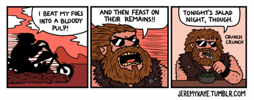 bikers salads funny web comics - 7886048256
