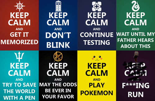 fandom problems,keep calm
