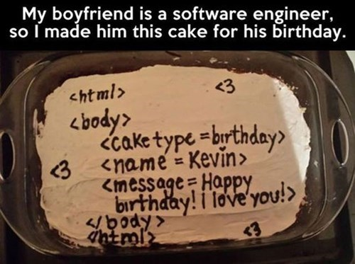 cake birthday coding funny - 7886162432