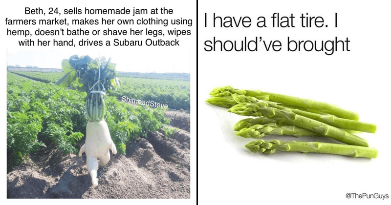 Funny memes about fruits and vegetables